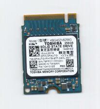 256GB Toshiba BG4 KBG40ZNS256G NVMe PCIe Gen3 x4 M.2 2230 SSD Drive Dell 0FWJTG
