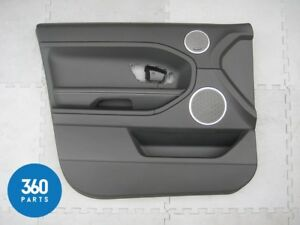 NEW GENUINE RANGE ROVER EVOQUE DOOR CARD PANEL LEFT LH BLACK IVORY LR028129