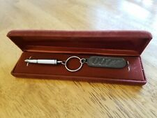 Rare 007 Collectable Keychain With Hidden Pen