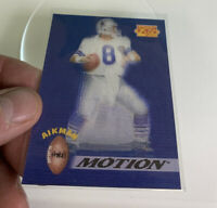 👀1995 Sportflix ProMotion Dallas Cowboys Football Card #PM2 Troy Aikman