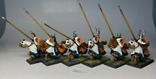 Warhammer - Order Bretonnia - Fireforge Knights x 6 - Painted and Based