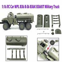 Umbau-Zubehör-Reifen-Öltanker-Militär-LKW Truck für WPL B36 B-36 1/16 RC Auto