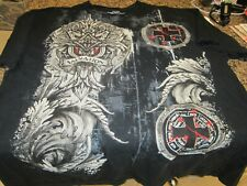 Salvation MMA Elite T-Shirt - Black - XL - Embroidered