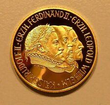 GOLDMÜNZE RUDOLF II. 1993, 500 SCHILLING, 986/1000 FEINGEHALT, Gedenkmünze