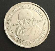 Makers Of The Millennium Mahatma Gandhi Coin Medal