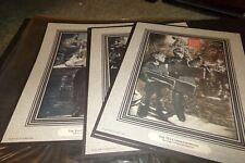 Lot 10 Vintage M Leon Bracker The Ten Commandments Art Prints Complete Set 1985