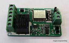 ESP8266 Dual Channel input e relé WIFI BOARD. 10 A/240 V. il venditore Regno Unito fidato.