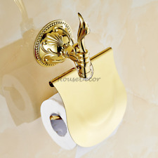 Luxury Carving Toilet Roll Paper Storage Holder Wall Mounted Tissue Paper Shelf