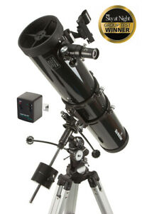 "Skywatcher Explorer 130M EQ 5.1"" f900 Newtonian telescope + Motor (UK Stock) NEW"