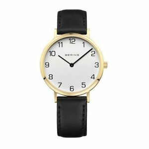 Bering Ladies Watch Wristwatch Slim Classic - 13934-434-1 Leather