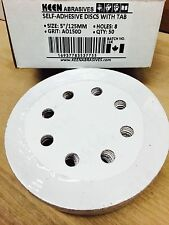 """5"""" SELF-ADHESIVE DISCS 8 HOLES WITH TAB AO150D KEEN (KN9-37755-50)"""