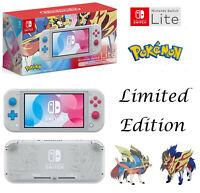 Nintendo Switch Lite Zacian And Zamazenta Pokemon Limited Edition Console