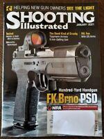 NRA Shooting Illustrated Magazine-January 2021 Issue-FK Brno PSD Handgun-New!