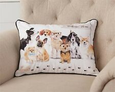 DOGS Accent Pillow - Welcome Home