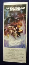 Empire Strikes Back A Original Rolled Unused 14X36 Star Wars Movie Poster 1980