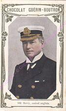Chromo CHOCOLAT GUéRIN BOUTRON Barry Amiral Anglais n 182 /500