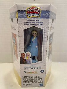 Play-Doh Mysteries Disney Frozen 2 Elsa Figure Playset, 5 Cans, 6 oz.