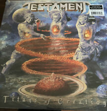 Testament - Titans of Creation (Clear with Orange & Blue Splatter) [Ne