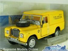 LAND ROVER SERIES III MODEL CAR VAN BRITISH TELECOM 1:43 SCALE CARARAMA 3 K8