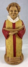 Signed Tom Clark Gnome Dorothy in Choir Robe #5901 Edition #13 Singer 7.5""