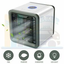 Portable Mini AC Humidifier Purifier Air Conditioner 3 in 1 Unit LED Cooling Fan