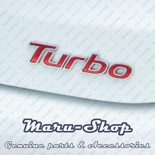 """Tailgate """"Turbo"""" Lettering Logo Badge Emblem for 11~18 Hyundai Veloster"""