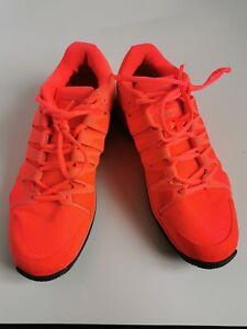 Nike Vapor 9.5 tour Women tennis Trainers Orange Size 6.5