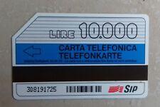 Carte téléphonique italie 1995 - carta telefonica 10 000 lire