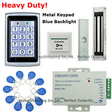 125KHz RFID Card+Password Door Access Control System+Waterproof Magnetic Lock