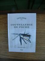 Catalogue Coutellerie de Poche Dominique Pascal