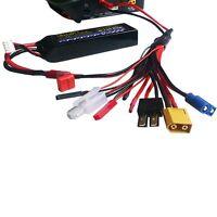 4mm RC Lipo charger Plug connector to Female Tamiya Futaba TRX EC3 JST XT60 B