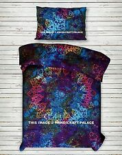 Indian Tie Dye Mandala Duvet Doona Cover Reversible Blanket Boho Bedding Set