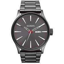Relojes de pulsera Nixon Nixon Sentry de acero inoxidable