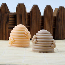 Handmade 3D Honeycomb Bee Hive Silicone Resin Mold Candle Soap Cake Mould DIY