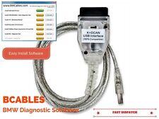BMW USB OBD K + DCAN DIAGNOSTIC CABLE GT1 EDIABAS INPA DIS SSS NCS EXPERT CODING
