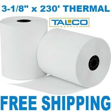 "(10 Rolls) 3-1/8"" x 230' Bpa Free Thermal Paper (Star Tsp100) ~Free Shipping~"