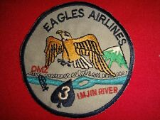 "Korea War (1950-53) Patch Us 3rd Brigade 2nd Infantry Division ""Eagles Airlines"""