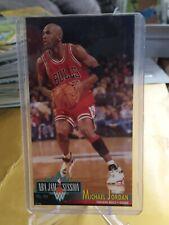 Michael Jordan 1993-94 Fleer NBA Jam Session #33 Basketball Card Bulls