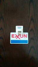 Vintage Exxon Gas Oil Service Filling Station Credit Card Memo Holder