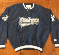 Vintage 90s MLB Genuine Merchandise By Starter New York Yankees Jacket Sz XL