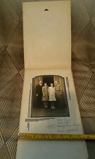 ☆Vintage Black and White Wedding Family photograph