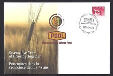 Canada  #  S36  Special Cover   SASKATCHEWAN WHEAT POOL     New 1999 Uaddressed