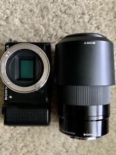 Sony Alpha A5000 Mirrorless Camera with 55-210mm F4.5-6.3 Lens.