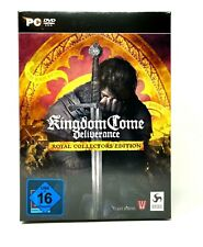 Kingdom Come Deliverance Royal Collectors Edition Pc NEU OVP NEW SEALED Warhorse