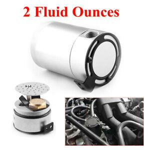 Car Oil Catch Tank 3-Port Reservoir Air-Oil Separator Baffled Billet Sealed Can