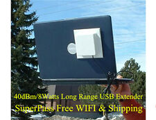 40dBm 1000mW USB Antenna Loss Free Long Range WIFI RV Miles Laptop Router ALFA 2