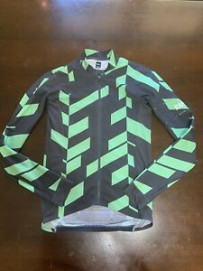 Rapha Pro Team Data Print Long Sleeve Aero Jersey.  Men's Small