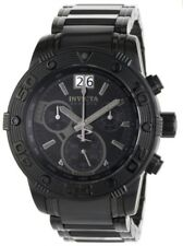 INVICTA MEN RESERVE NEKTON SPORT COMBAT CHRONOGRAPH BLACK BRACELET WATCH 0762