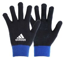 Adidas Unisex BC Knit Gloves Fleece Navy Blue Run Sports Fashion Glove GD8944