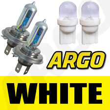 H4 XENON WHITE HEADLIGHT BULBS KIA PICANTO SPORTAGE RIO